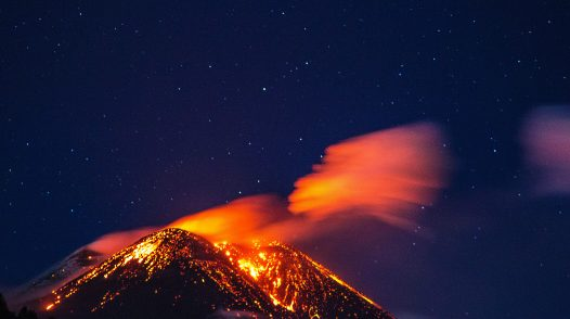The most important Volcanoes in Europe
