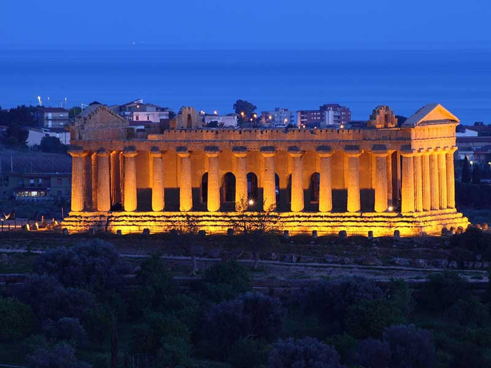 Valley of the temples Sicily: hours, prices, maps and visitor information