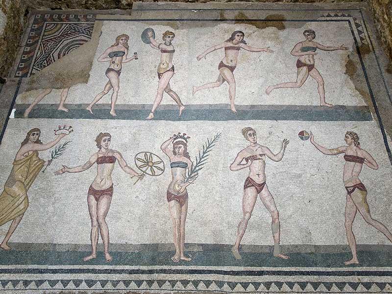 villa romana del casale: i mosaici