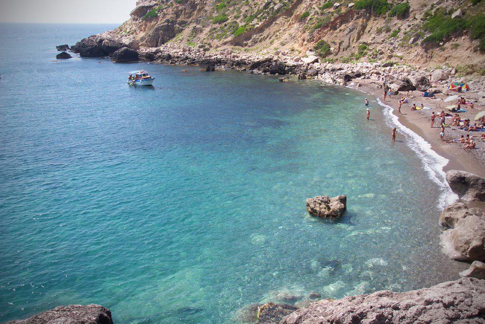 Aegadian Islands boating holidays, Cala Cretazzo