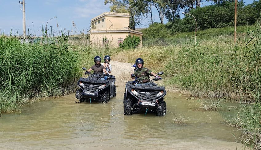 Quad rental in Agrigento - Excursion in Agrigento