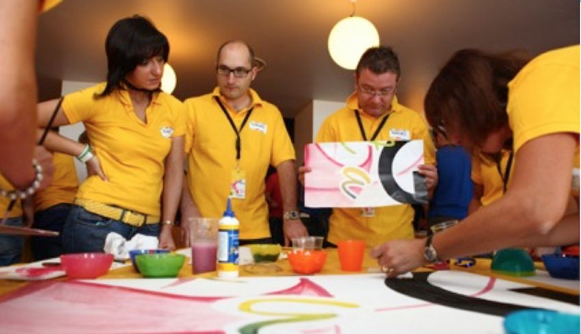 Creative team building - team building italy