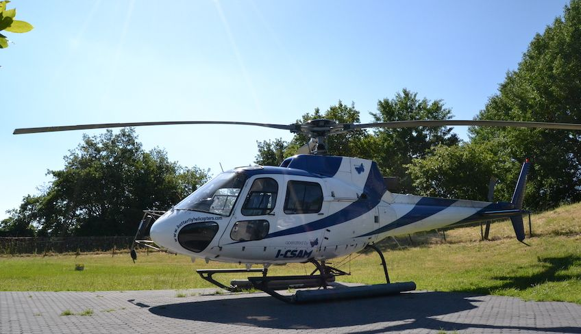stromboli helicopter tour -