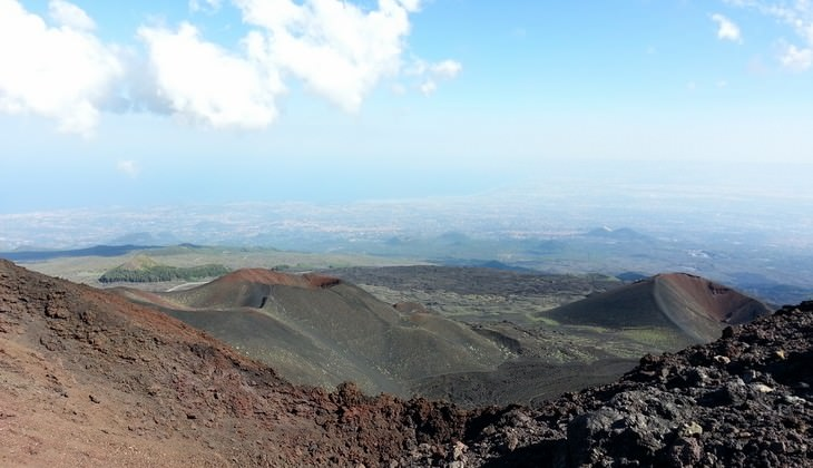 Tour Etna - travel with the bike