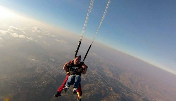 Skydiving Sicily - extreme sports in Sicily