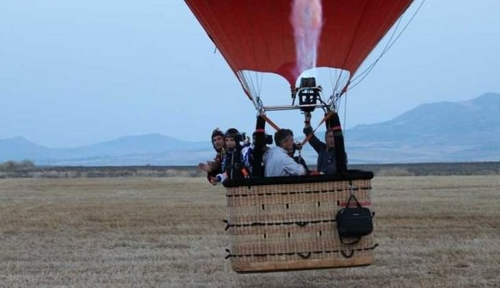 Mongolfiera tour - hot air balloon flight