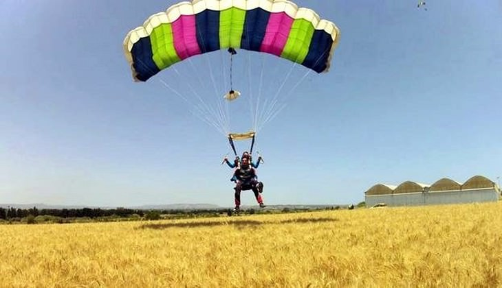 Skydiving Sicily - school sport Sicily