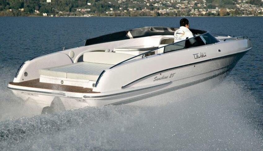 La barca per l'escursione