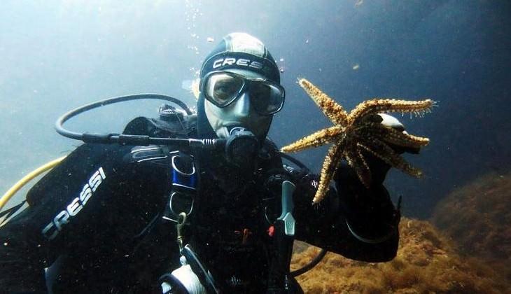 Diving Taormina - diiving over Sicily