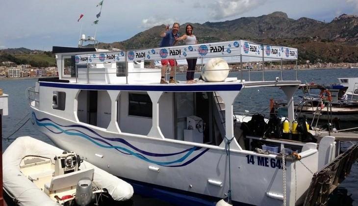 Diving Taormina - diving sicily