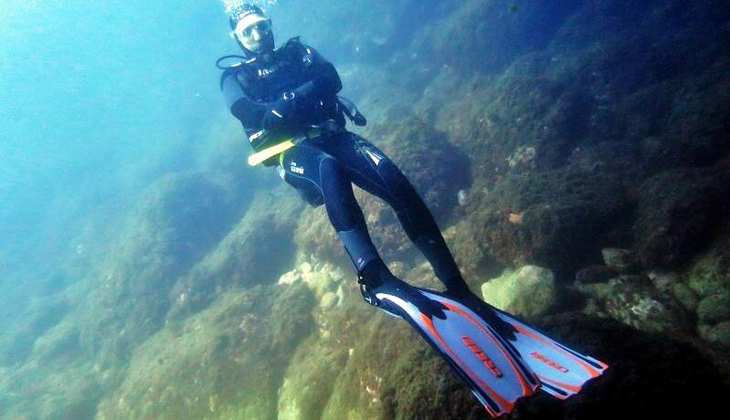 Sport & Adventure Holiday in Sicily -Diving Taormina