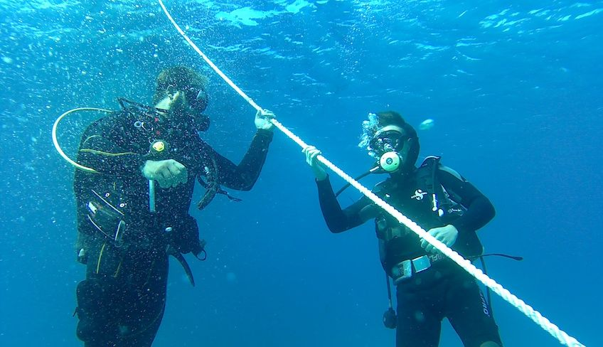Diving Siracusa - activities sports Sicily