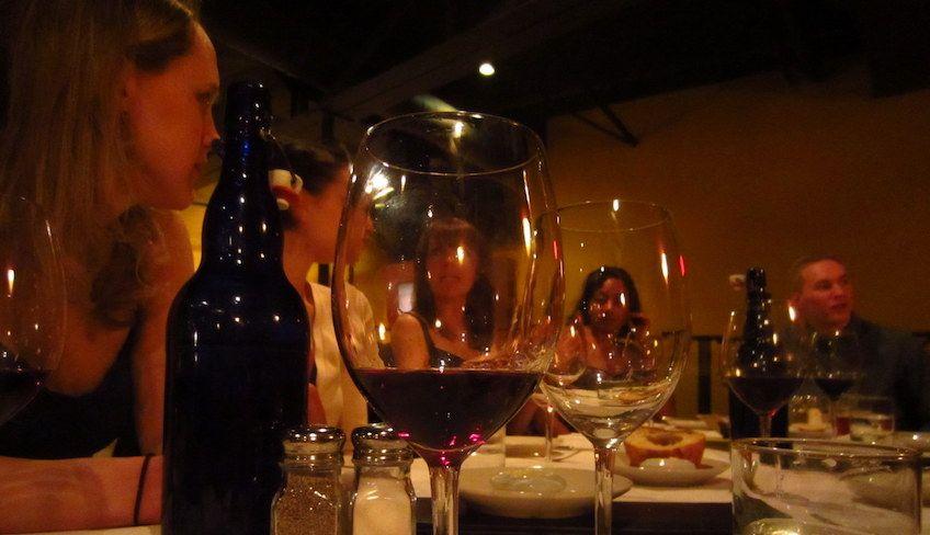 Wine tasting in Italy - nero d'avola sicily