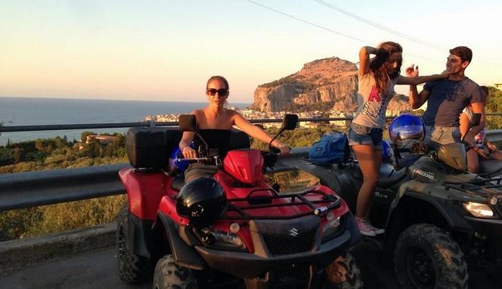 Visit Cefalù - quad excursion