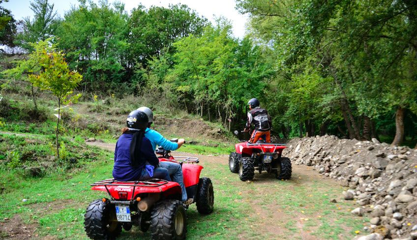 quad etna - etna quadbiking
