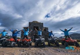 quad etna - etna quadbiking