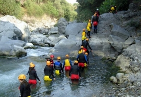Sport & Adventure Holiday in Sicily -Rafting Sicily