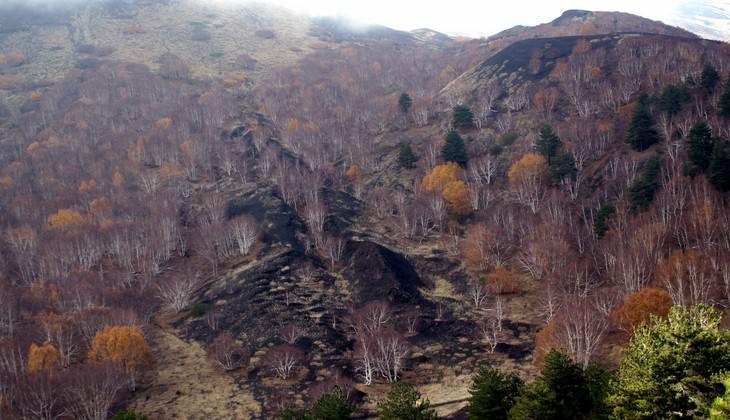 hiking Etna - volcano sicily