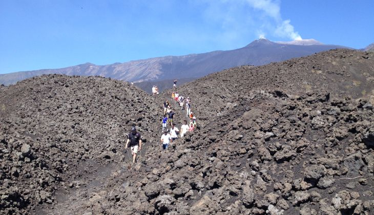 Hiking Etna - Etna trekking map