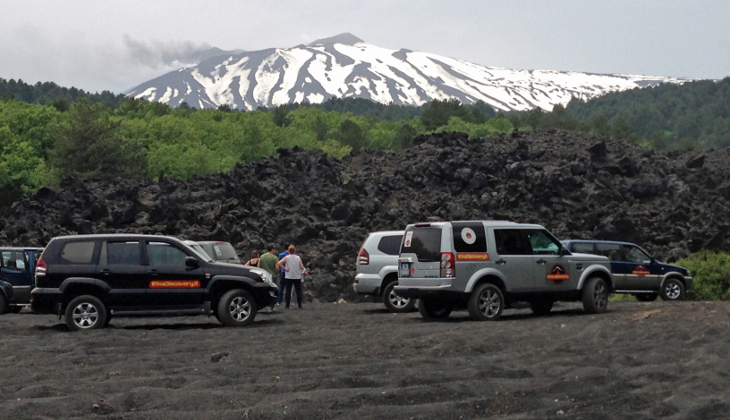 Sport & Adventure Holiday in Sicily -Hiking Etna