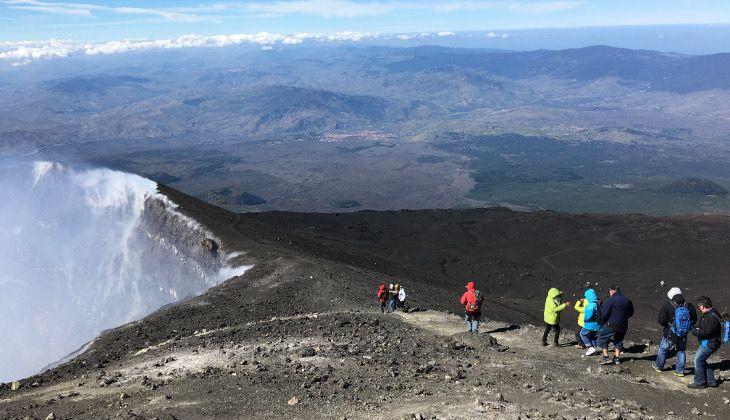 Hiking Etna - Etna trekking map
