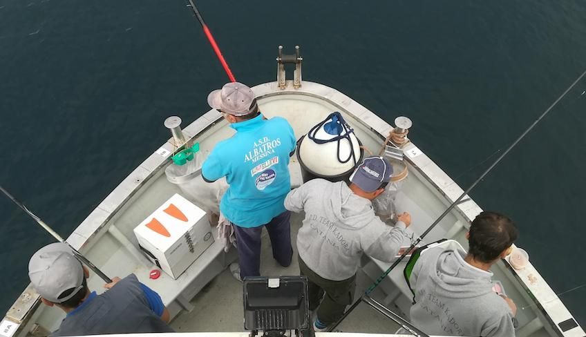 Fishing holiday  - sport Sicily