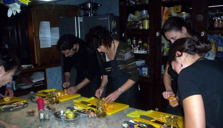 Dinner in Palermo - culture of Sicily