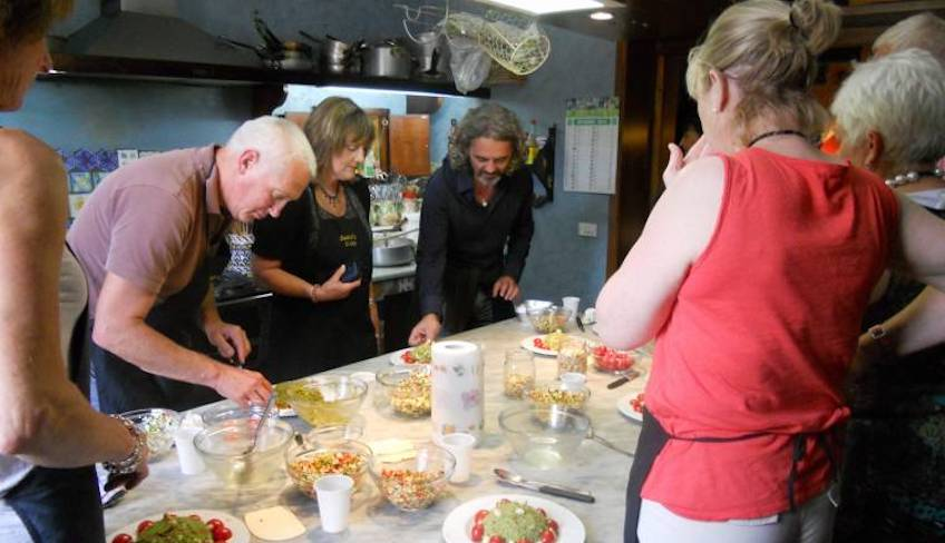 Cooking School Holiday in Sicily -Cooking class in Italy
