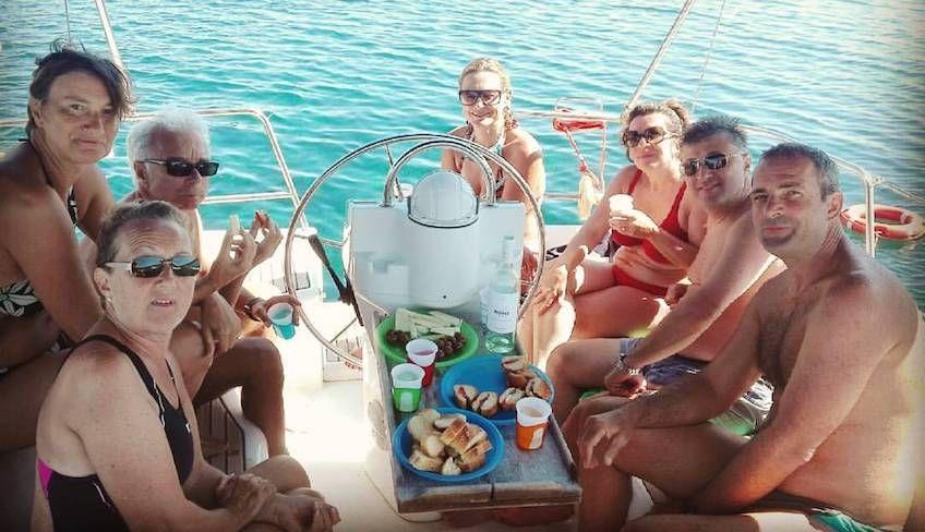 Cruise in Egadi - sicilian beaches