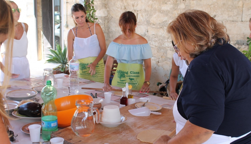 Cooking class in agriturismo