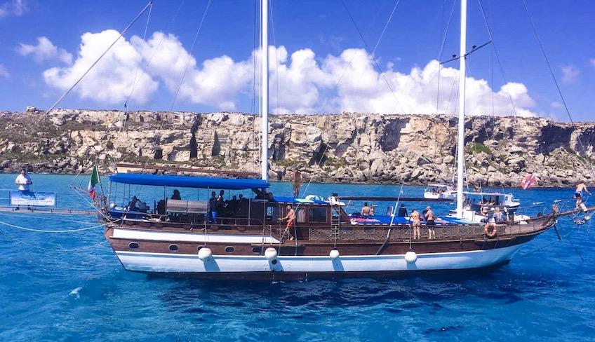 egadi islands boat trip