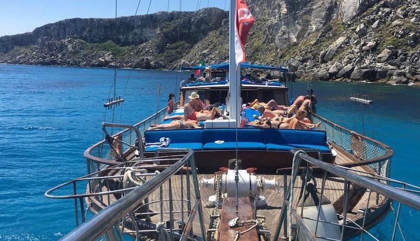 egadi islands boat trip -