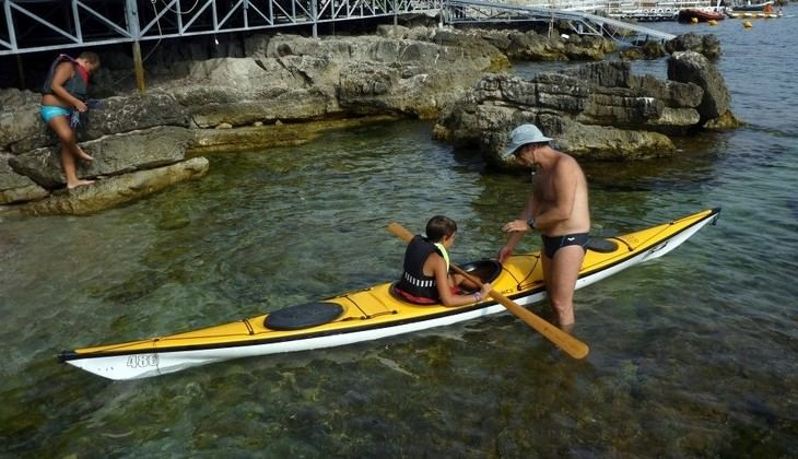 Kayak Holidays - school sport Sicily