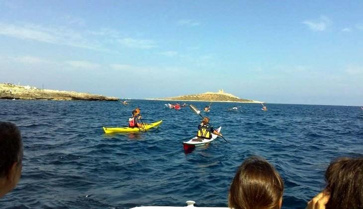 Kayak Sicily - kayak tours sicily