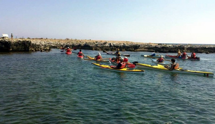 Sport & Adventure Holiday in Sicily -Kayak Sicily