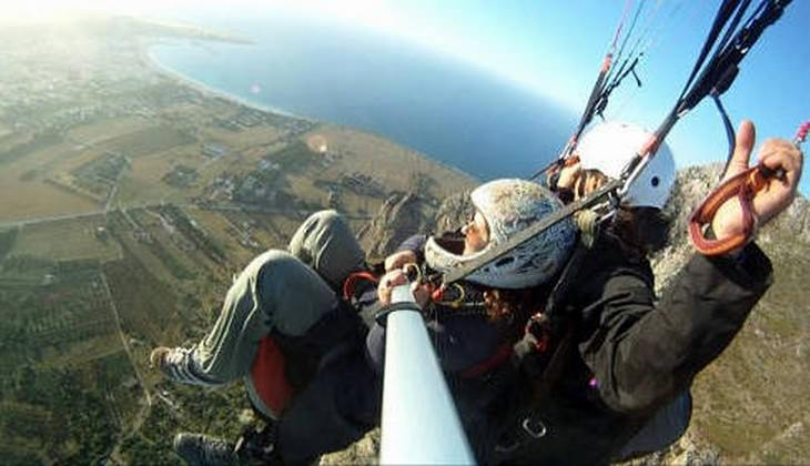 Paragliding in italy - paragliding school