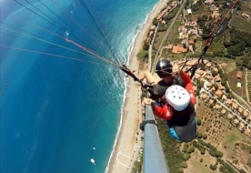 Paragliding in italy - paragliding school