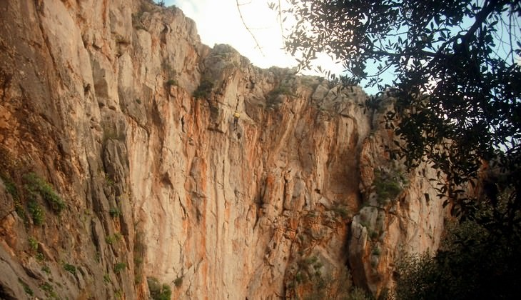 Free climbing in Italy - sicily climbing areas