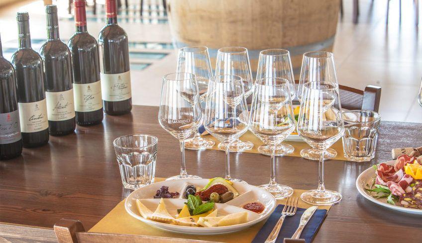 Wine tasting cellar - wine sicily etna