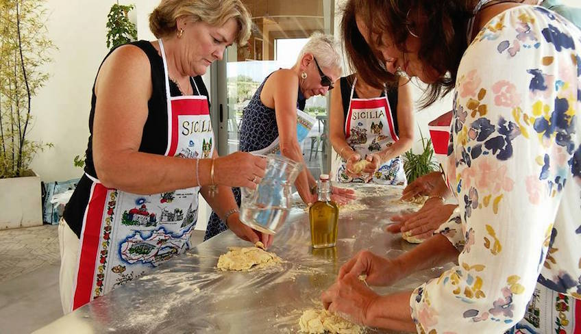Cooking School Holiday in Sicily -cooking classes