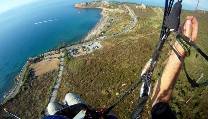 Paragliding in Italy - flights to sicily