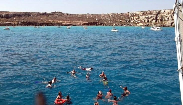 Diving in Sicily - water sports