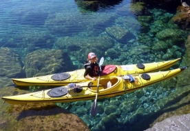 Kayak in Italy - guided kayak tour