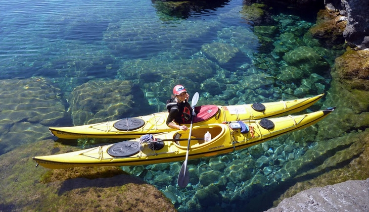 Sport & Adventure Holiday in Sicily -Kayak in Italy