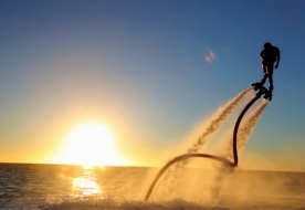 Sport & Adventure Holiday in Sicily -Flyboard in Italy