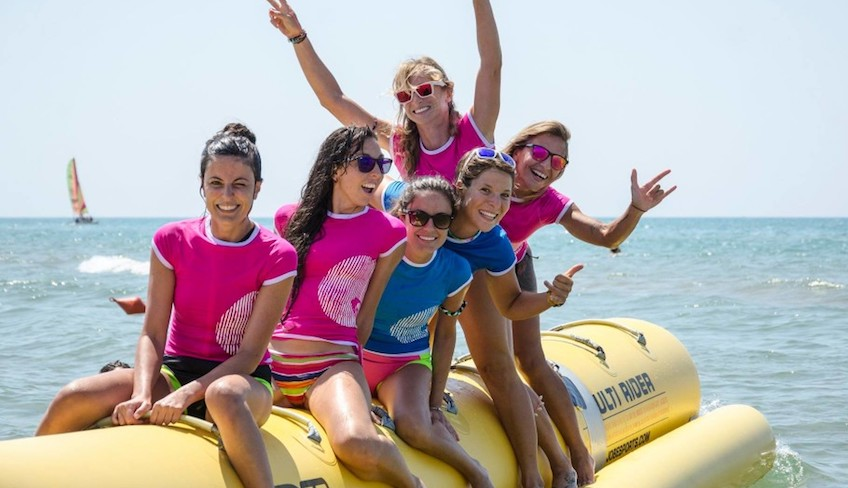 Sport & Adventure Holiday in Sicily -Banana Boat