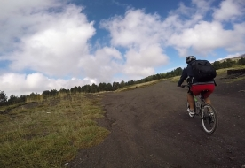 Avventure in mountain bike sulle rive del Simeto