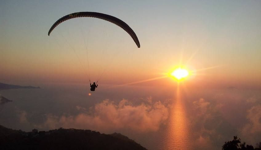 Paragliding - Parapendio in Tandem