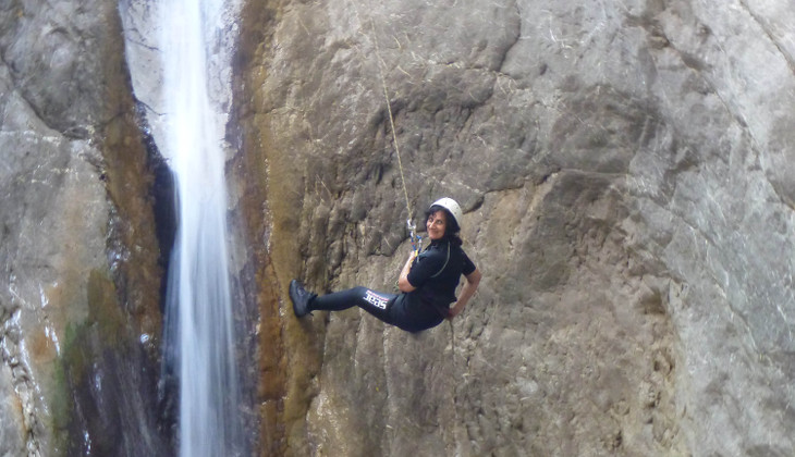 Water Sport Holiday in Sicily - Canyoning