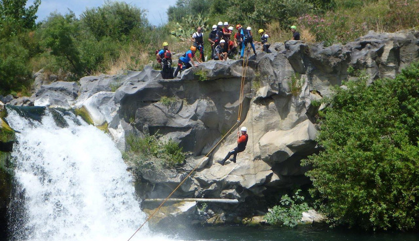 Sport & Adventure - Holiday in Sicily - Canyoning